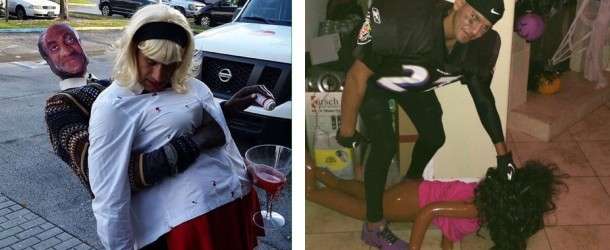 It's just a joke? When Halloween costumes cross the line